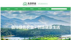 莞城农业集团案例-网站制作东莞