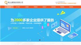 寮步镇企业管理咨询有限公司案例-东莞做网站好的公司